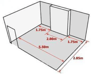 How to measure your room for carpet, vinyl and wood