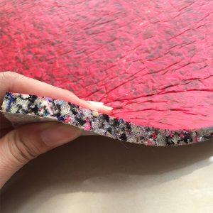 Closeup of Hi Lux carpet underlay 8 mm thick