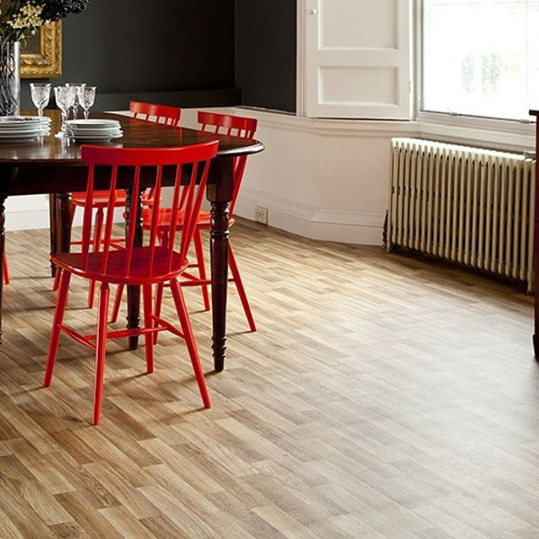 Bingo Chianti vinyl flooring in Dining room