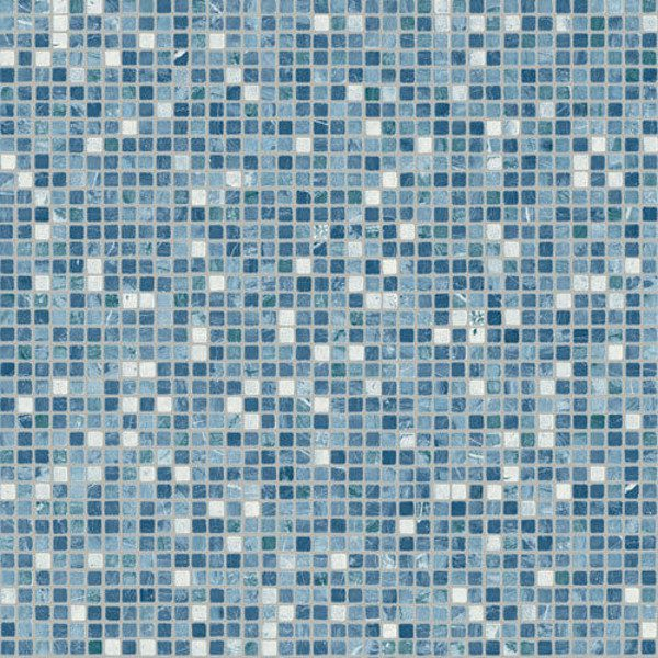 Blitz Milo Vinyl Flooring Swatch Blue