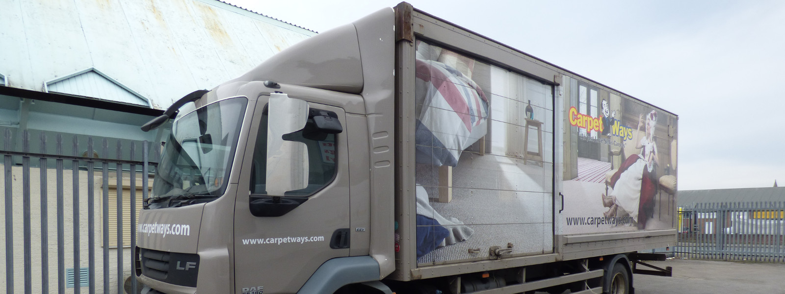 CarpetWays Delivery Lorry