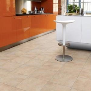 Kitchen room view Krono Stoneline Dorado Stone Laminate
