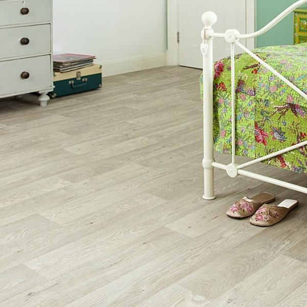presto aspin vinyl flooring in bedroom