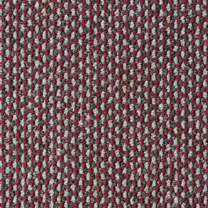 Brazil Looped Pile Carpet Red 556 Swatch