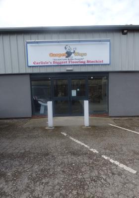 Carlisle store front door image