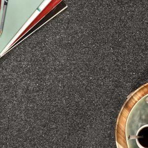 Dark Grey Sparkle Carpet Room Image