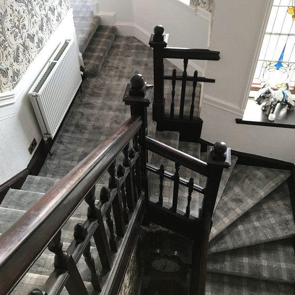 Imperial Tartan Stairs & Landing Image 2