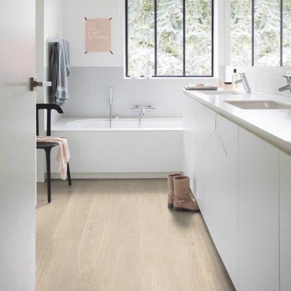Roma Luxury Vinyl Tile Bathroom Image