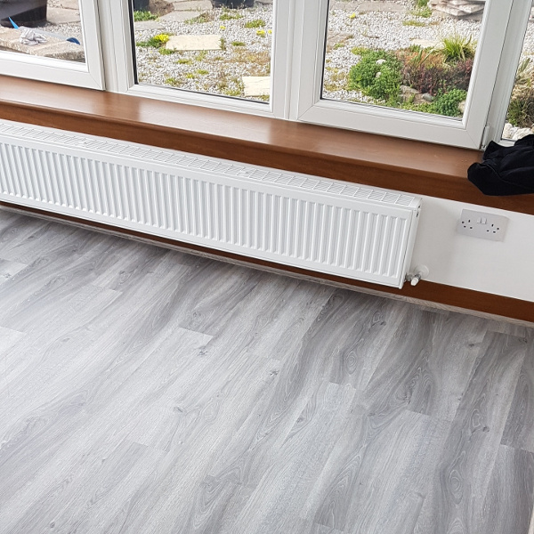 4 Roma Husky Grey LVT Fitting Job - Dumfries